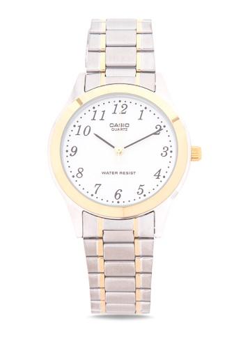 Casio silver Analog Watch MTP-1128G-7BRDF CA076AC07LSAPH_1