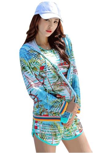 YG Fitness multi (3PCS) Fashion Sports Swimsuit Set D4B5FUS244E407GS_1