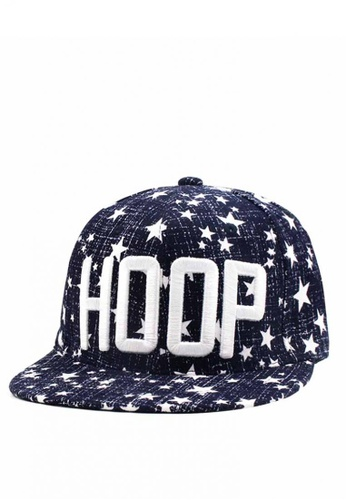 Cap City International blue Hoop Unisex Hip-hop Snapback Cap  CA260AC0JG66PH 1 e522909034c