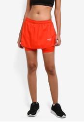 2GO orange Flared Mini Skirt 2G729AA0S5V3MY_1