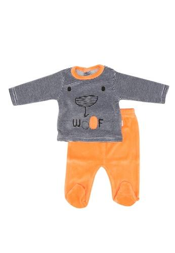 Babybol orange Baby 2 Pieces Set E0C35KAEF2AA3CGS_1