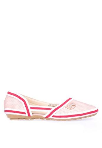 INSIDE pink Inside Flats Jennette - Pink IN074SH0UFJGID_1