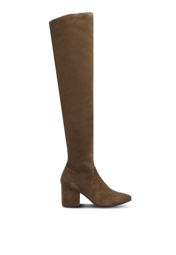 ALDO green and brown Iboewet Boots AL087SH0SE24MY_1