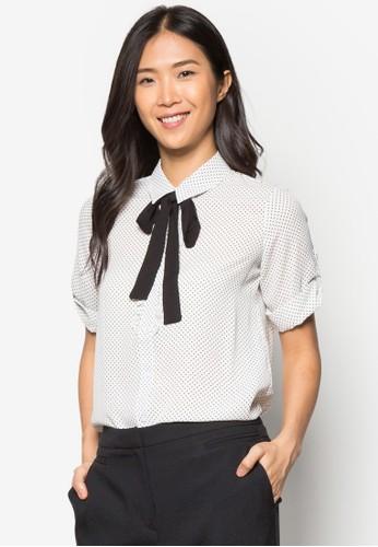 Ivory Dotty Frizalora 手錶ll Shirt, 服飾, 上衣