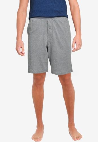 Old Navy grey Jersey Pajama Shorts BC02DAA043E246GS_1