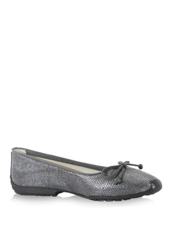 Covet grey French Sole Gabi Ballet Flats CO331SH39WHKPH_1