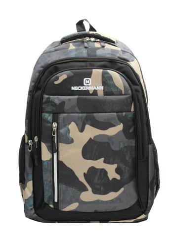 Neckermann black and grey Neckermann Backpack Series 0129 866F9AC9919DB6GS_1