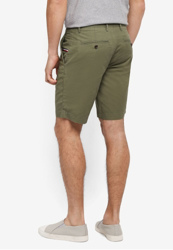 Tommy Hilfiger green BROOKLYN SHORT LIGHT TWILL E56A4AAB51C13CGS_1