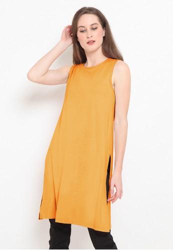BASIC ONE orange Basic One Jeddah Tunik Jenna Mustard 94E73AAC32E18EGS_1
