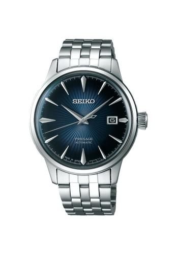 SEIKO silver SEIKO PRESAGE SRPB41J1 AUTOMATIC STAINLESS STEEL MEN'S SILVER WATCH 70088AC0C894CFGS_1