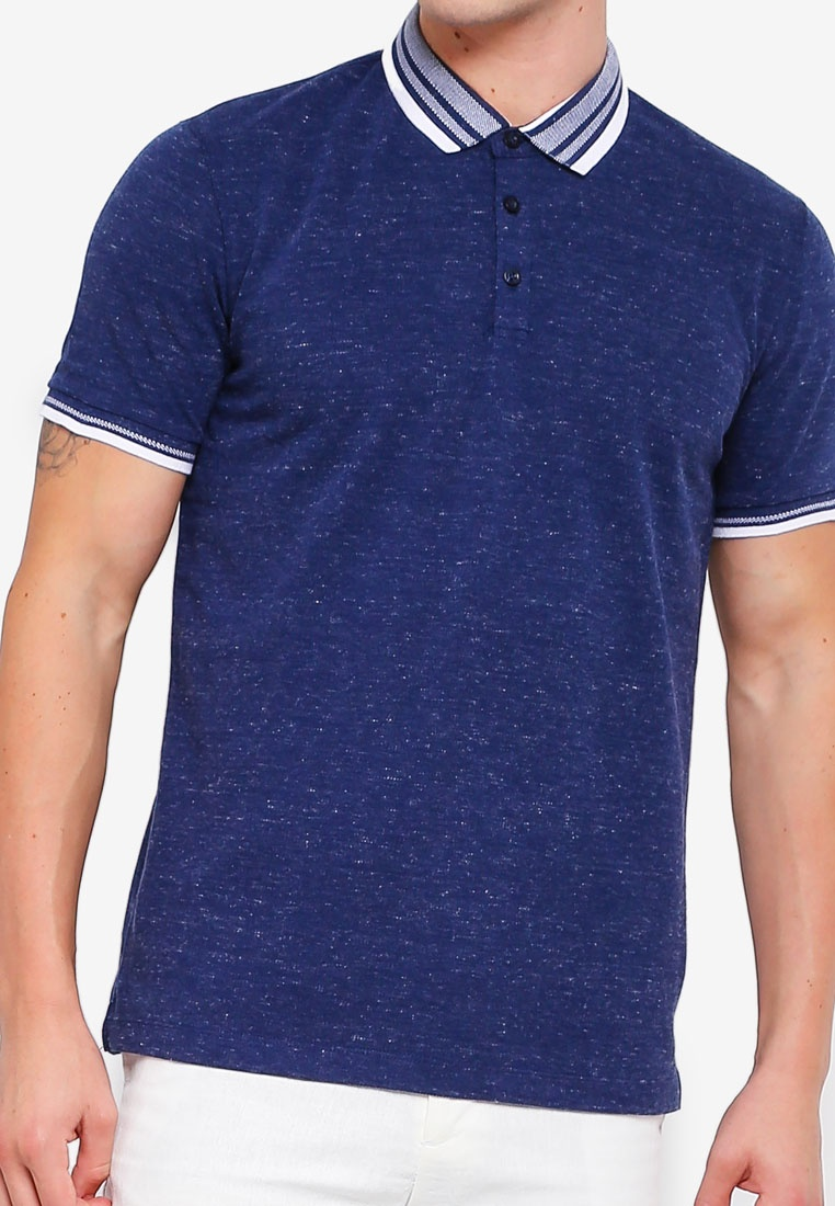 Dark Pique Tone Collar Shirt Polo G2000 2 Navy Y5qWdAg