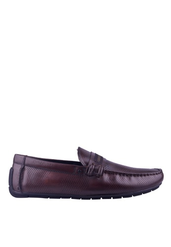 Hush Puppies brown Hush Puppies Jarvis Saddle In Brown 3B264SH156996DGS_1