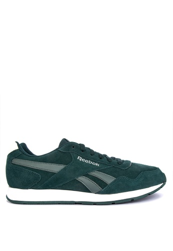 Reebok green Royal Glide Lifestyle Sneakers 8E0DDSHC84473AGS_1