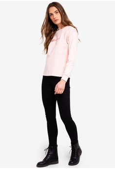 45% OFF Calvin Klein Long Sleeve Fashion Logo Tee - Calvin Klein Jeans RM  429.00 NOW RM 234.90 Sizes XL 8c68c9d36
