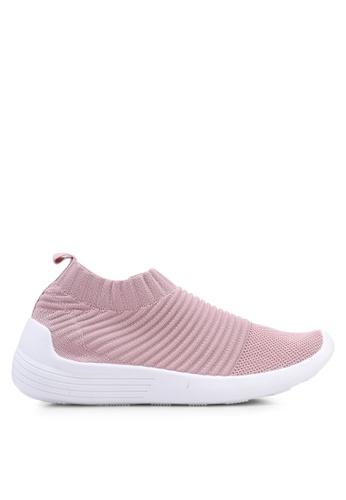 Rubi 粉紅色 懶人運動鞋 7710DSHBA02BBEGS_1