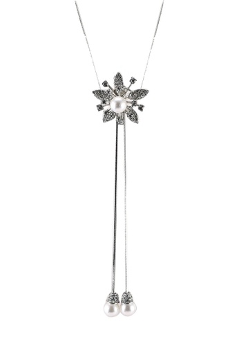 Megane silver Aurora Rosil Necklace C775CAC544032FGS_1