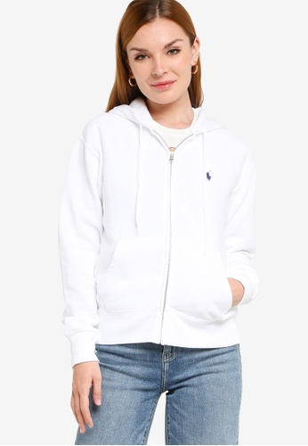 Polo Ralph Lauren white Ls Zip Hd-Long Sleeve-Knit Lt Wt Seasona A2343AA5B5622CGS_1