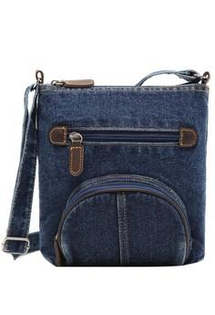 Denim Unisex Vintage Sling Bag