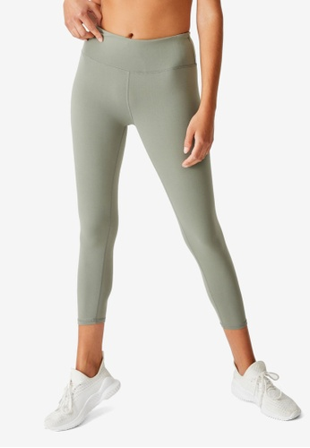 Cotton On Body grey Active Core 7/8 Tights A75A0AA7766544GS_1