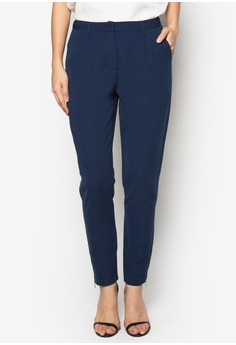 Collection Cigarette Pants With Ankle Zip
