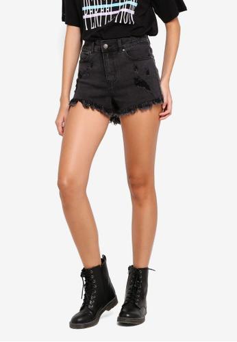 Supre black Bondi Shorts 47888AA0097548GS_1