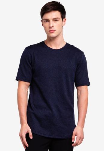 UniqTee 藍色 圓領上衣 0EC56AAC362778GS_1