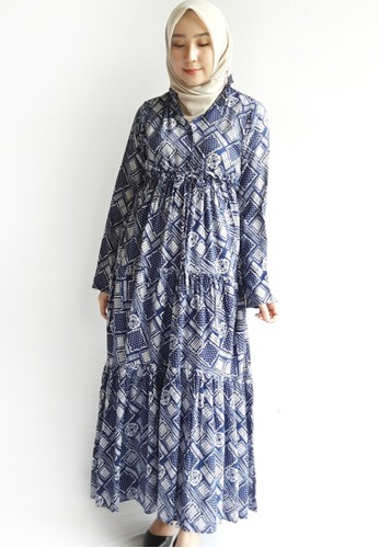 Covering Story navy Oktavia Tunic C 6A5EFAAC81B434GS_1