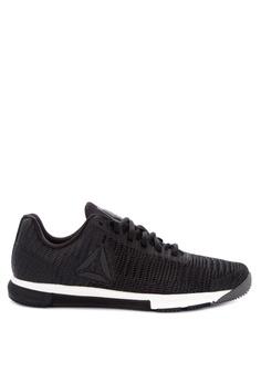 1829bc129b194 Reebok black Speed Flexweave Training Sneakers 6B2DBSHDEB1DA1GS 1