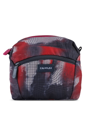 CRUMPLER blue and multi Squid Large Pouch DDFB9ACB6CDA6DGS_1