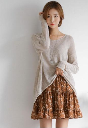 輕柔觸感V領針織esprit 工作上衣, 服飾, 毛衣& 針織外套