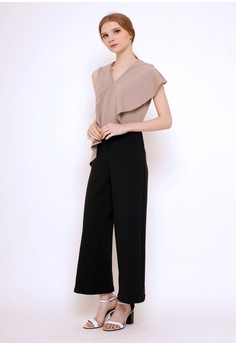 3674db55 MILLE brown Gia Jumpsuit Brown 7D0F5AA771CBB2GS_1