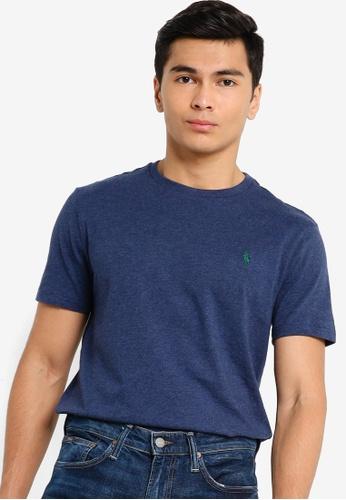 Polo Ralph Lauren blue Basic Logo Tee BAE04AAE1F8ED6GS_1