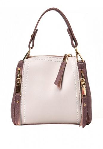 Sunnydaysweety white Korean New Style Contrast Color Women Bag UA011893 31706AC6EA8E5EGS_1