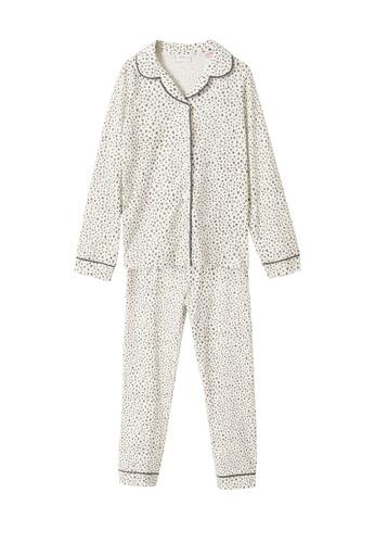 MANGO KIDS white Printed Long Pyjamas D7C30KAF1A871BGS_1