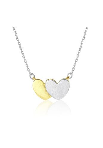 SUNRAIS silver Premium Silver S925 Silver Heart Necklace 0E42FAC8539383GS_1
