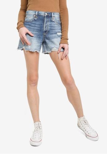 Free People blue Makai Cut Off Shorts 98DD8AAF3C95E2GS_1