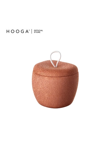 HOOGA brown Hooga Toiletries Cotton Bud Container Ricardo (Bundle of 2) 86E6AHL68594BCGS_1
