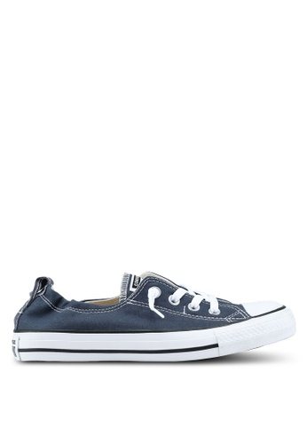 be99cb5193f197 Converse navy Chuck Taylor All Star Shoreline Sneakers B21D6SH8EEFCAFGS 1