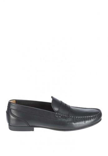 Sebago black Trenton Penny Driving Shoes SE328SH0J652PH_1