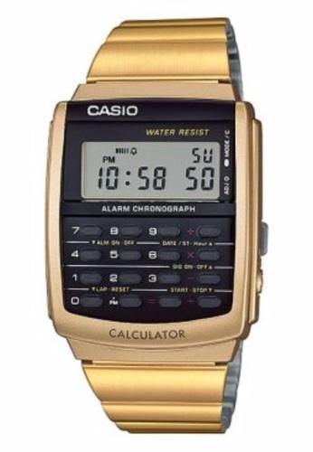 Casio CASIO DATABANK CALCULATOR CA-506G-9A GOLD STEEL CA843AC0S96VMY_1