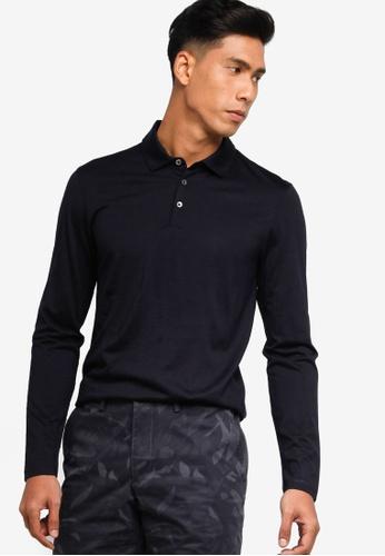 BOSS blue Person Polo Shirt - BOSS Men A561DAA8A6D7C8GS_1