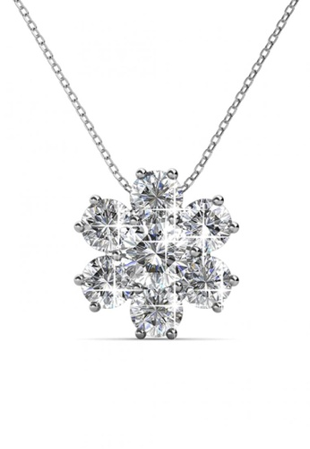 Her Jewellery silver Her Jewellery Elegant Flower Pendant with Necklace Chain with 18K Gold Plated FB778AC60363D1GS_1