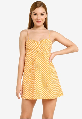 H&M orange Short Dress D6A51AA595C1D2GS_1
