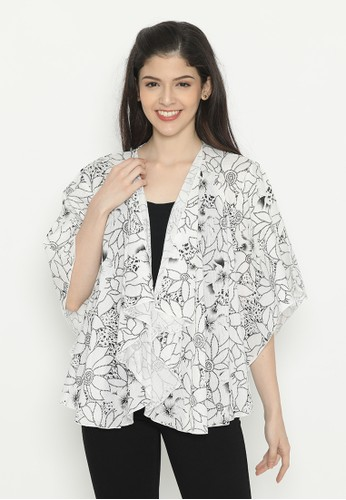 Mobile Power white Full-Outer Batwing Flower White Mobile Power Ladies - D10036 9A70AAA47D310CGS_1