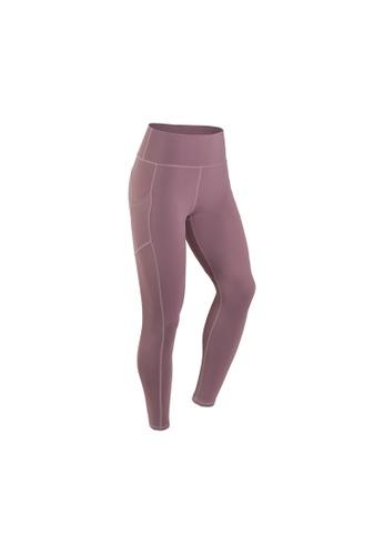 VIVIESTA SPORT pink Heart Shape Workout Sports Leggings 396BFAA81ADCB0GS_1