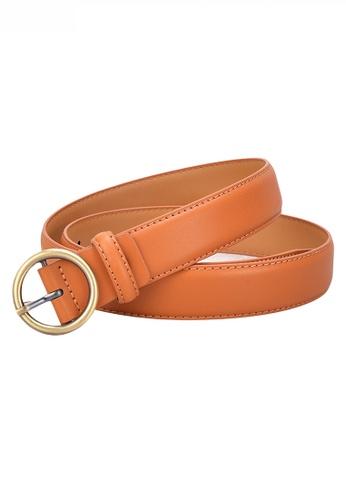 Twenty Eight Shoes Metal Round Buckle Leather Belt JW CY-100 79DD2ACC1D28A9GS_1