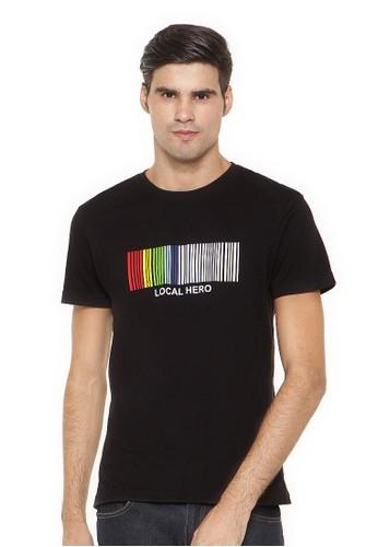 Poshboy T-shirt Print Barcode With Color