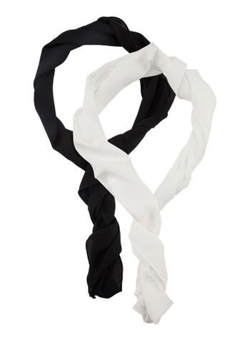 二入素色長領巾, esprit outlet 旺角飾品配件, 披肩
