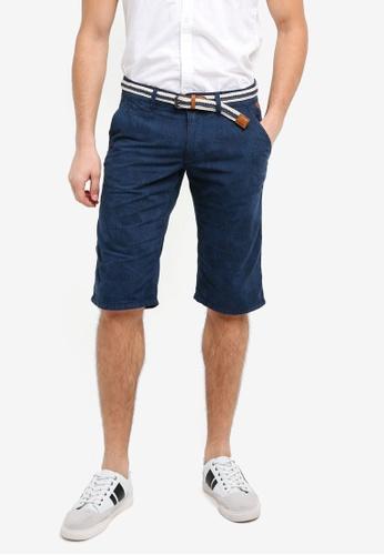 ESPRIT blue Woven Regular Shorts 19388AAC5DEB3DGS_1
