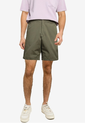 niko and ... green Cotton Shorts 15A86AAC3BFD32GS_1